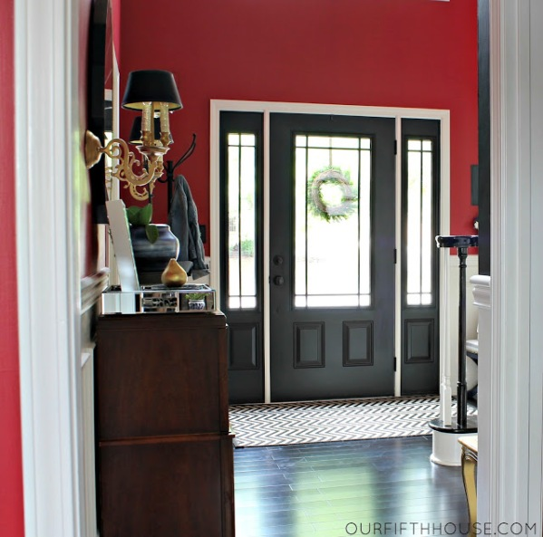 blackinteriordoorentryfoyer