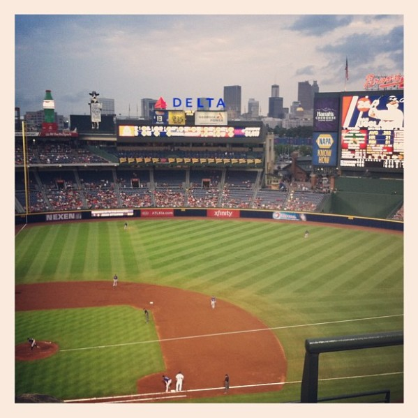 Turner Field vs. Rockies 7.31.13